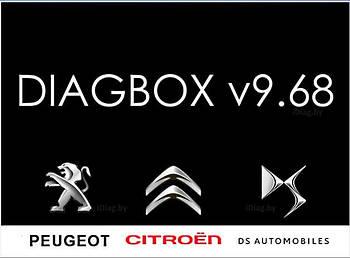 Установка DiagBox 9.68 для роботи з Lexia 3 (діагностика Peugeot, Citroen до 2020р)