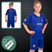Распродажа! Форма футбольная детская для мальчиков CHELSEA ЧЕЛСИ 2020 SP-PLANETA Синий (CO-0957) 26 размер