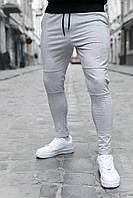 Мужские штаны светло-серые зауженные/ Есть 4 цвета