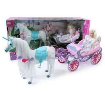 Карета с лошадью и куклой арт. 37386, фото 2