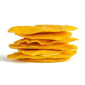 Манго 🥭 сушене без цукру Mr. Grapes, 300 г. Великі соковиті шматки з кисло-солодким смаком.