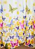Готова тюль з тасьмою метелики, фото 2