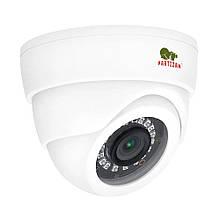 2МП купольная видеокамера Partizan CDM-223S-IR FullHD