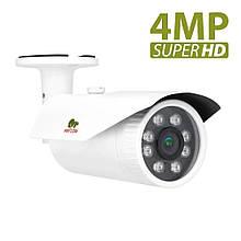 4МП уличная видеокамера Partizan COD-VF4HQ SuperHD