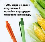 Ручка кулькова біорозкладний натуральний матеріал, фото 8