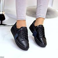 Жіночі кеди кросівки натуральна шкіра, фото 1