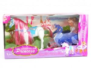 Карета з конем для ляльки арт.38386