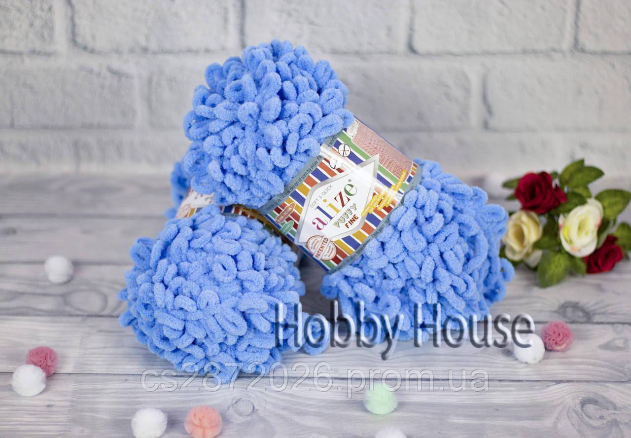 Alize «Puffy Fine /Пуффи Файн» №112,голубой