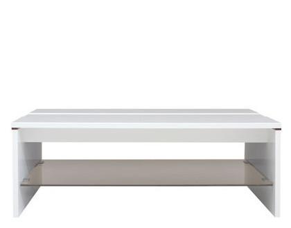 Журнальный столик LAW/4/11 Azteca BRW белый глянец/дуб canterbury