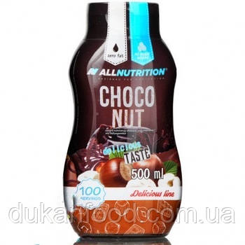 Соус AllNutrition Sos Choco Nut ШОКОЛАДНО ОРЕХОВЫЙ, 500 мл