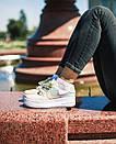 Кросівки жіночі Nike Air Force 1 Sage Low LX Beige/Pale Blue-Pink, фото 10