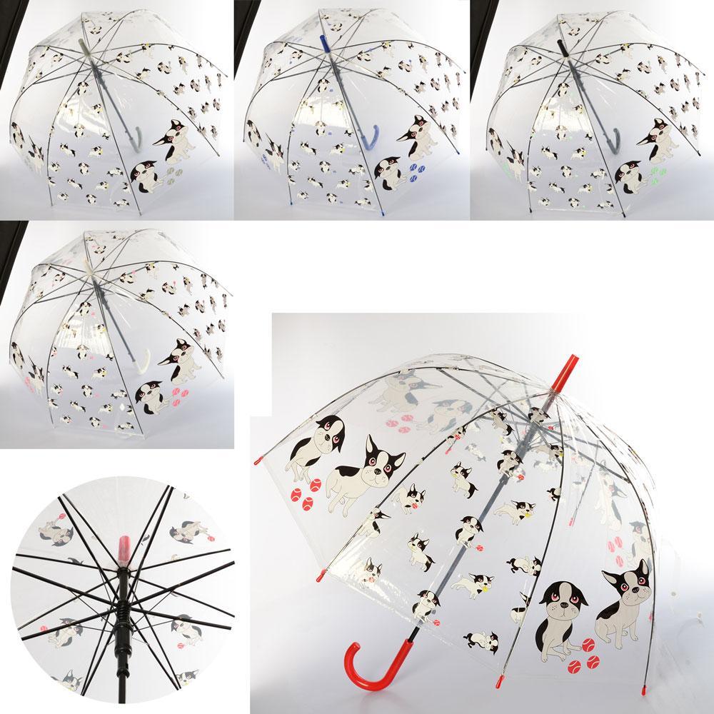 Детский зонтик прозрачный арт.MK 3614-1