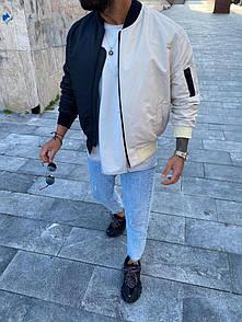 Чоловіча куртка-бомбер