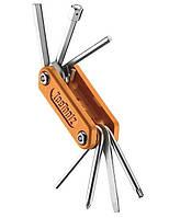 """Ключ Ice Toolz """"Handy-8"""" 94H4 складаний, нержавіюча сталь, помаранчевий"""