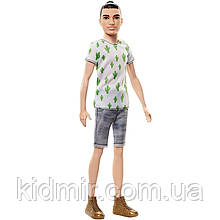 Лялька Барбі Кен Гра з модою 16 Barbie Cactus Cooler Playing FJF74