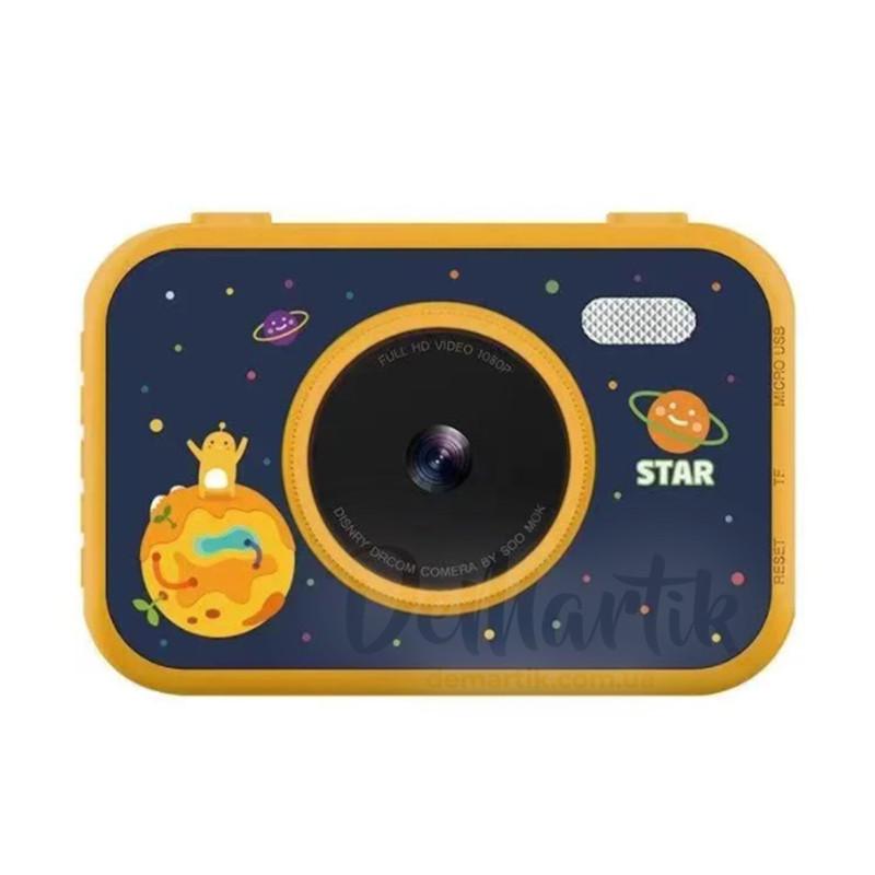 "20Мп Дитячий фотоапарат 3,5"" HD екраном Космос з двома камерами (жовтий) (T035_Y)"