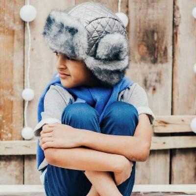 """Зимняя шапка-ушанка для мальчика """"Форт"""""""