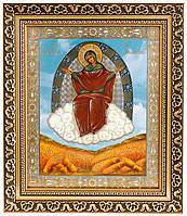 Ікона Божої Матері «Спорительниця хлібів» (багет)