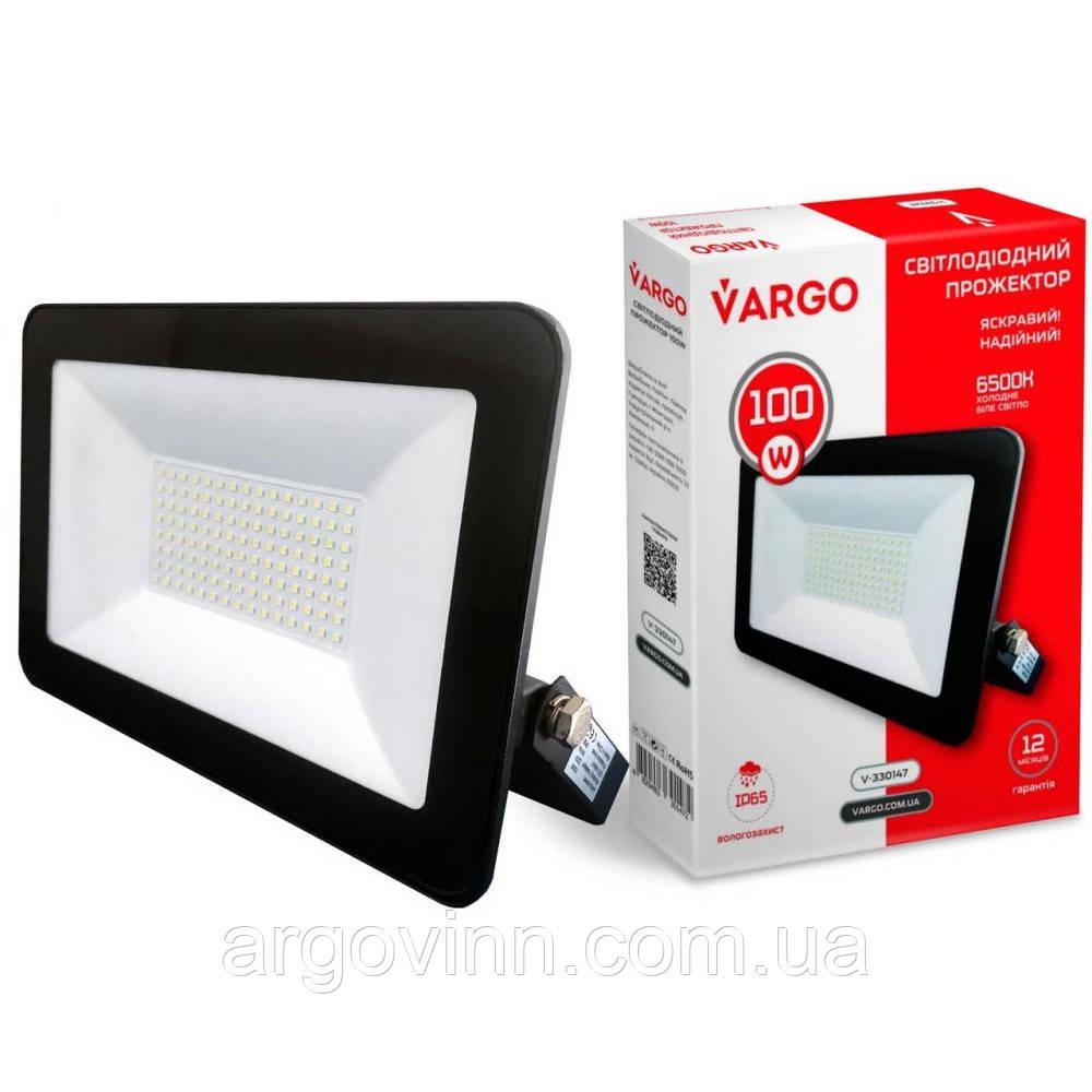 Прожектор LED VARGO 100W 220V 9000lm 6500K (V-330147)