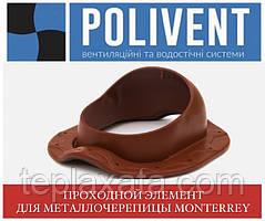 ПОЛИВЕНТ Прохідний елемент для металочерепиці Монтеррей