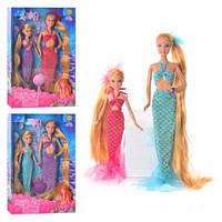 """Кукла """"Defa Lusy"""" Русалочки (2 куклы) 30 см и 22 см 8235"""
