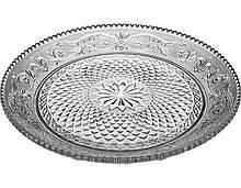 Блюдо плоское Konya стеклянное 350мм 1шт