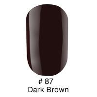 Гель-лак Naomi № 87 Dark Brown 12 мл