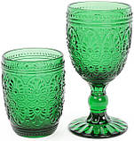 Набор 6 стаканов Siena Toscana 325мл, изумрудное стекло, фото 2