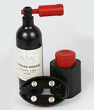 Набір сомельє Wine Story: штопор, ніж для зрізання обплетення, вакуумна пробка
