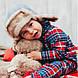 """Теплая ушанка для мальчика """"Левис"""", фото 4"""