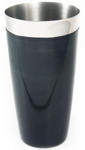 """Шейкер BARPRO """"Бостон"""" (Boston) 750мл з антиковзаючим покриттям, чорний"""