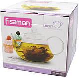 Чайник заварочный Fissman Lucky-9361 600мл со съемным фильтром, фото 2