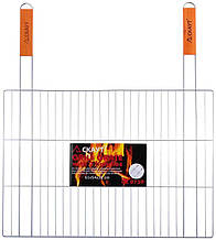 "Решетка для барбекю Kamille ""Скаут"" 54х38см с двумя ручками"