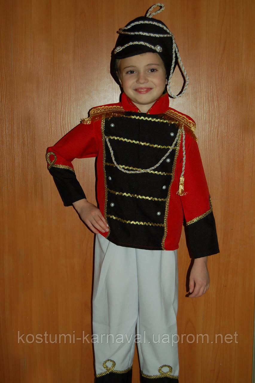 Карнавальный костюм Гусар , Солдатик для мальчика, цена ... - photo#6