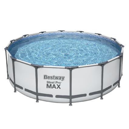 Каркасный бассейн Bestway 5612X (427х122 см) с картриджным фильтром, тентом и лестницей, фото 2