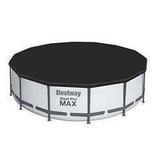 Каркасный бассейн Bestway 5612X (427х122 см) с картриджным фильтром, тентом и лестницей, фото 3