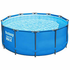 Круглый каркасный бассейн Bestway 15427 (366 x 133 см) Steel Pro Max Frame Pool, фото 3