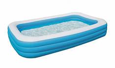 Надувний басейн BestWay 54009 Сімейний Блакитний (54009)