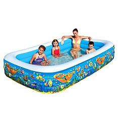Надувной семейный бассейн BestWay 305х183 см (54121)