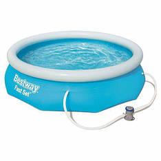 Надувний сімейний басейн BestWay 57270 (305х76 см) Fast Set