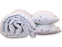 "ТМ TAG Одеяло лебяжий пух ""Cotton"" 1.5-сп. + 2 подушки 70х70, фото 1"