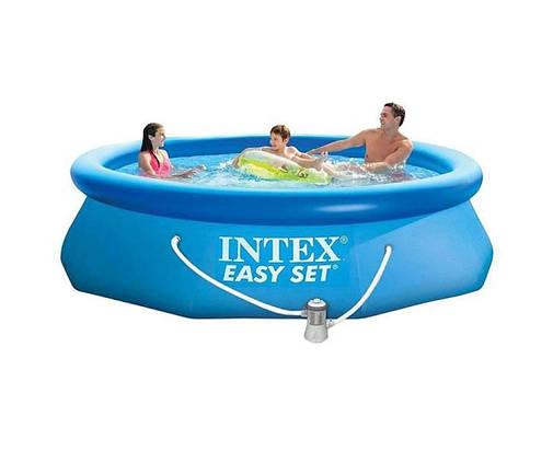 Сімейний басейн Intex 28122 Easy Set 305x76 см з фільтр-насосом, фото 2