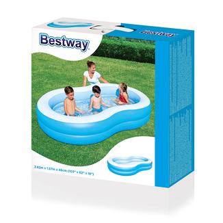 Детский бассейн Bestway 54117 262*157*46 см, фото 2