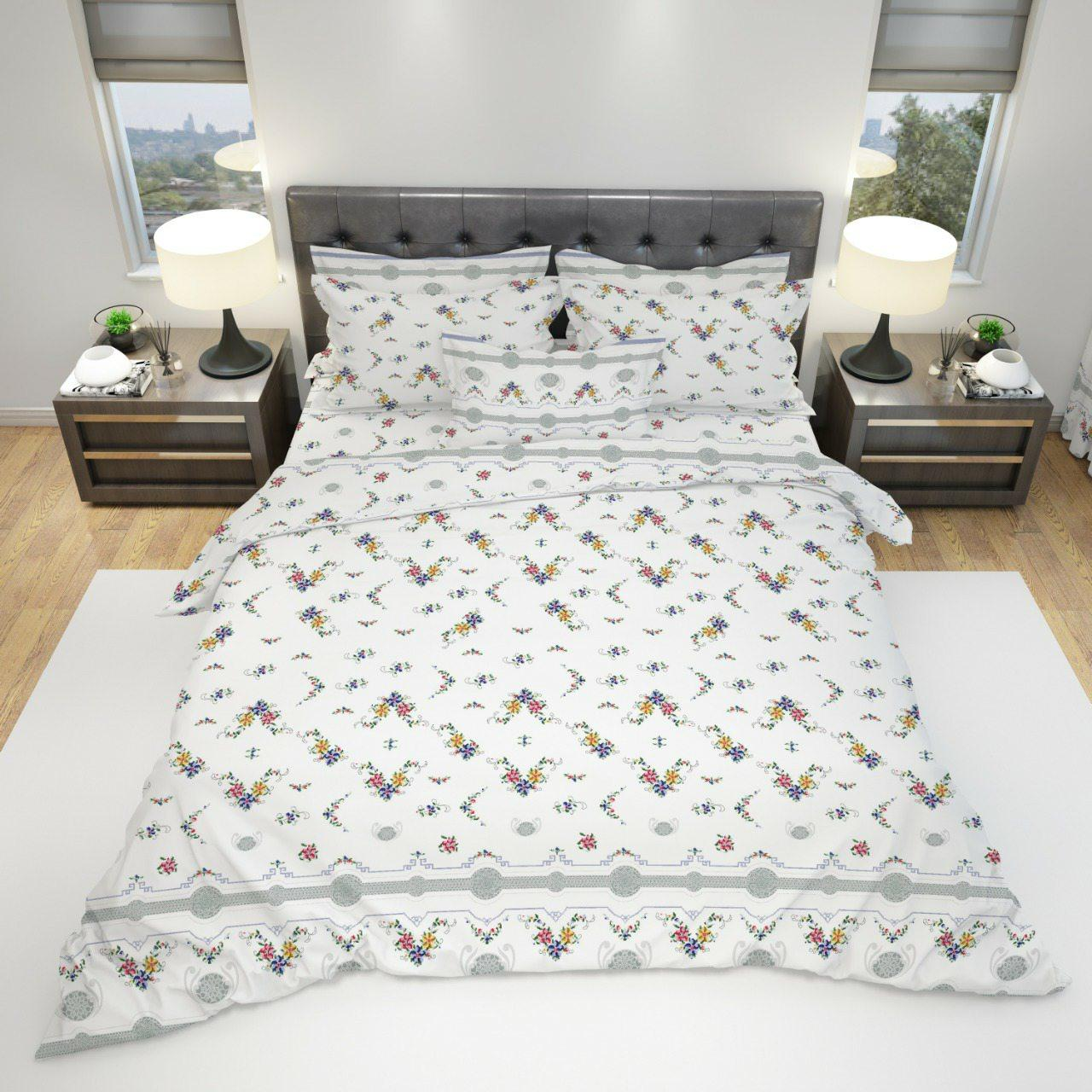 Постельное белье бязь голд люкс двуспальный - Нежность.