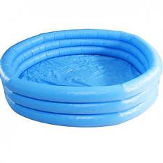 Дитячий надувний басейн Intex 58446 (168 х 41 см) Синій Кристал