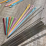 Пластикова голка 7 см для зшивання в'язаних виробів., фото 3