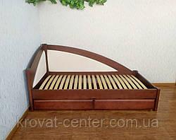 """Односпальная кровать тахта с мягкой боковой спинкой и выдвижными ящиками """"Радуга Премиум"""", фото 2"""