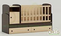 Кроватка-трансформер детская Oris Marica Комбинированный