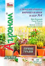 Набор пряных трав для комнатного выращивания №4