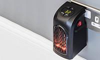 Мини обогреватель Rovus Handy Heater. Хенди хитер 300Вт с таймером, выключателем и регулятором температуры